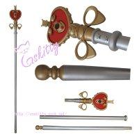 美少女戦士セーラームーン 月野うさぎ ハート型スティック 武器 コスプレ道具