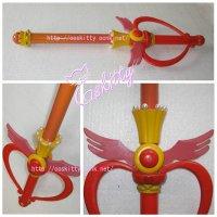 美少女戦士セーラームーン 月野うさぎ ウイング型スティック 武器 コスプレ道具