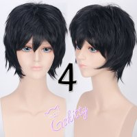 コスプレウィッグ ショートウィッグ28cm   ナチュラルブラック 黒髪