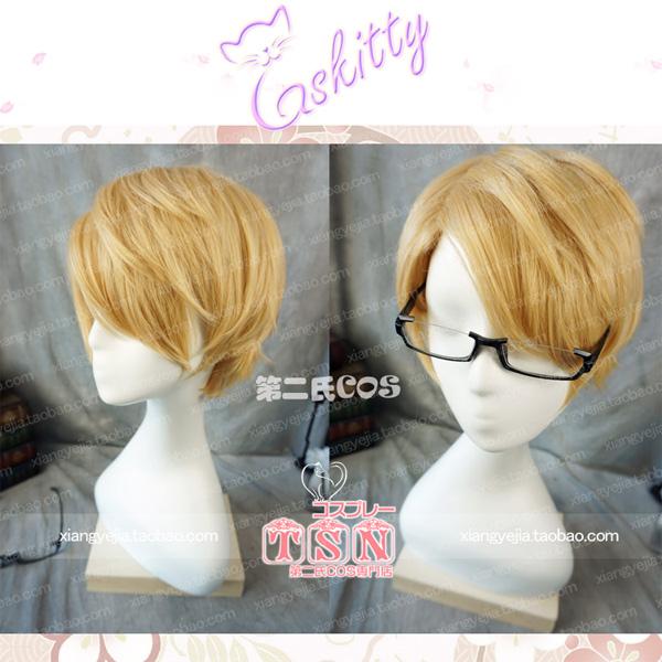 Fate Grand Order  フェイト・グランドオーダー FGO  ヘンリー・ジキル&ハイド  コスプレウィッグ 眼鏡/メガネ付き
