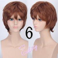 コスプレウィッグ ショートウィッグ28cm   モカブラウン 茶髪